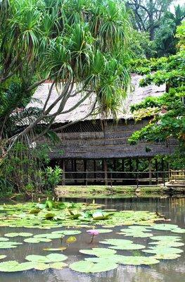Sabah traditional village