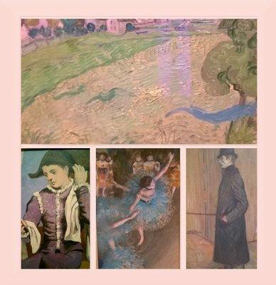 Impressionist paintings, Thyssen museum