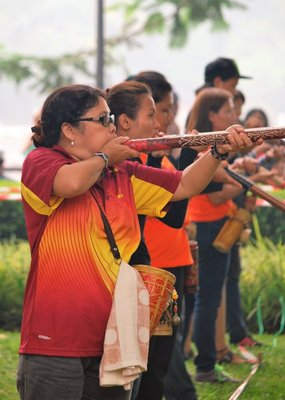 Blowpipe competition