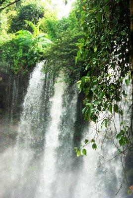 Waterfall Kulen mountain