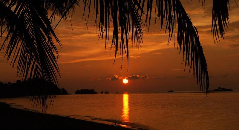 Sunset Langkah Syabas resort