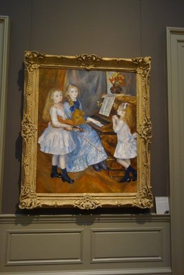 """""""The Daughters of Catulle Mendes, Huguette""""- Auguste Renoir"""