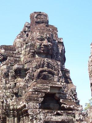 Smiling Buddha Face - Angkor Thom