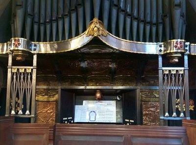 Great Warley Organ Case