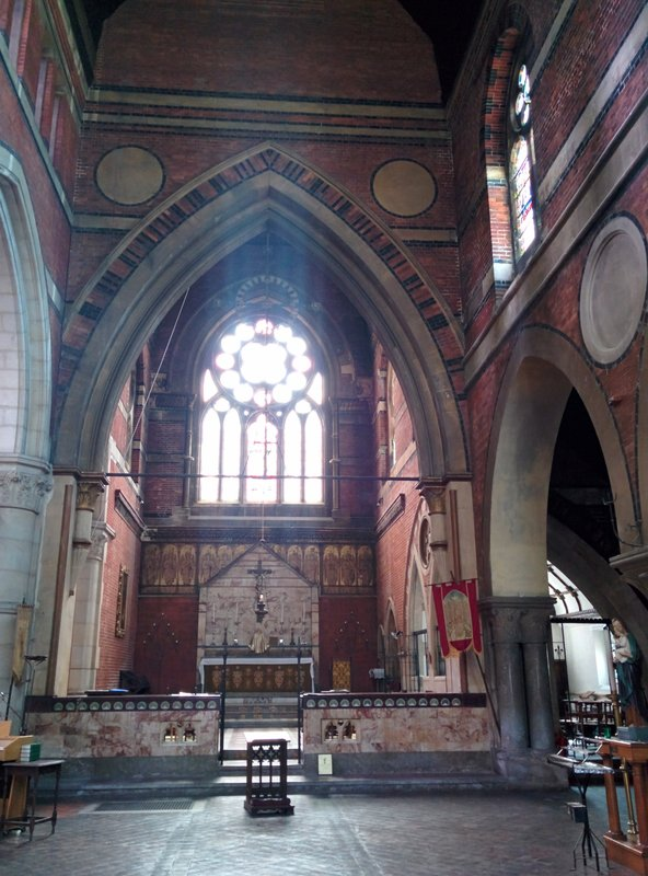 St Michael and All Saints, Interior 2