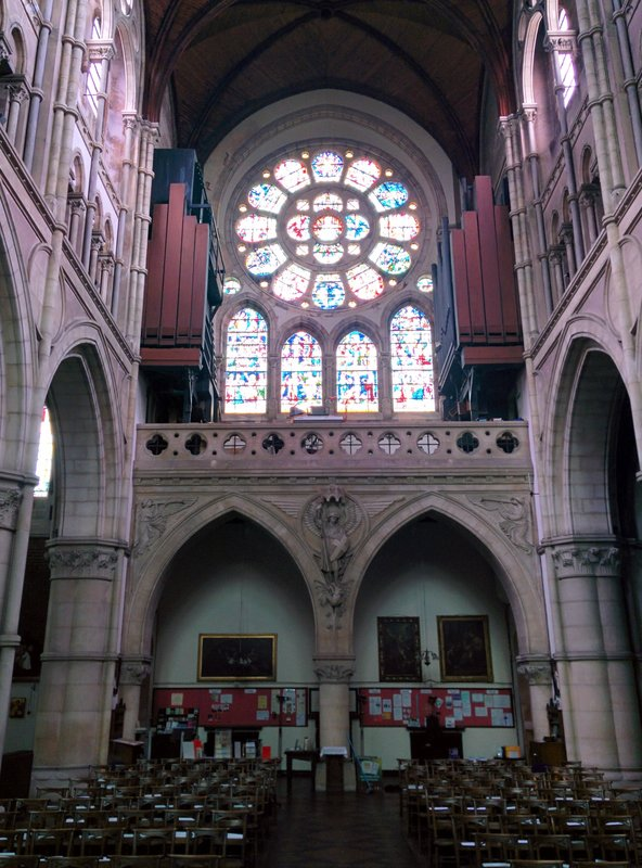 St Michael and All Saints, Interior 3