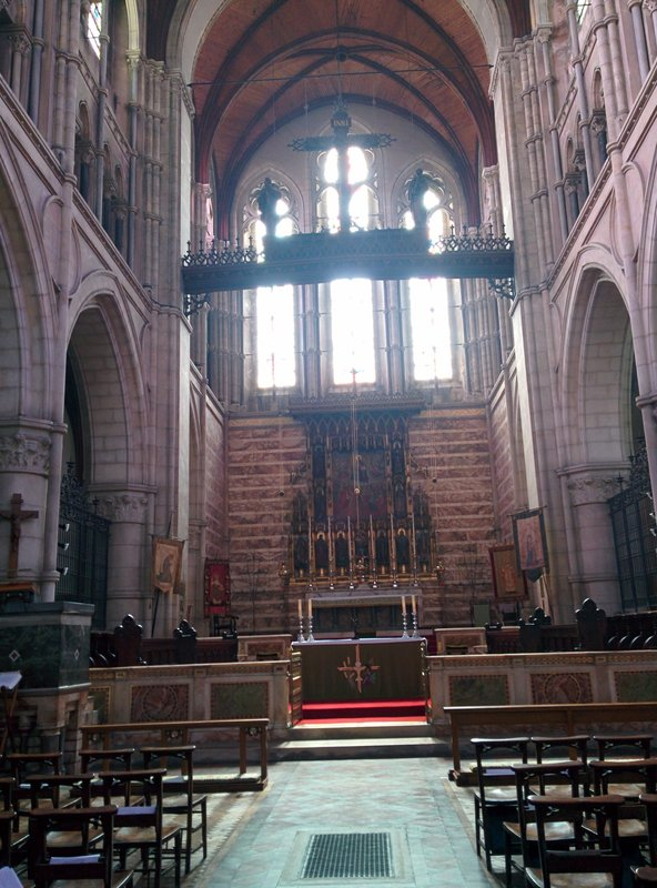 St Michael and All Saints, Interior