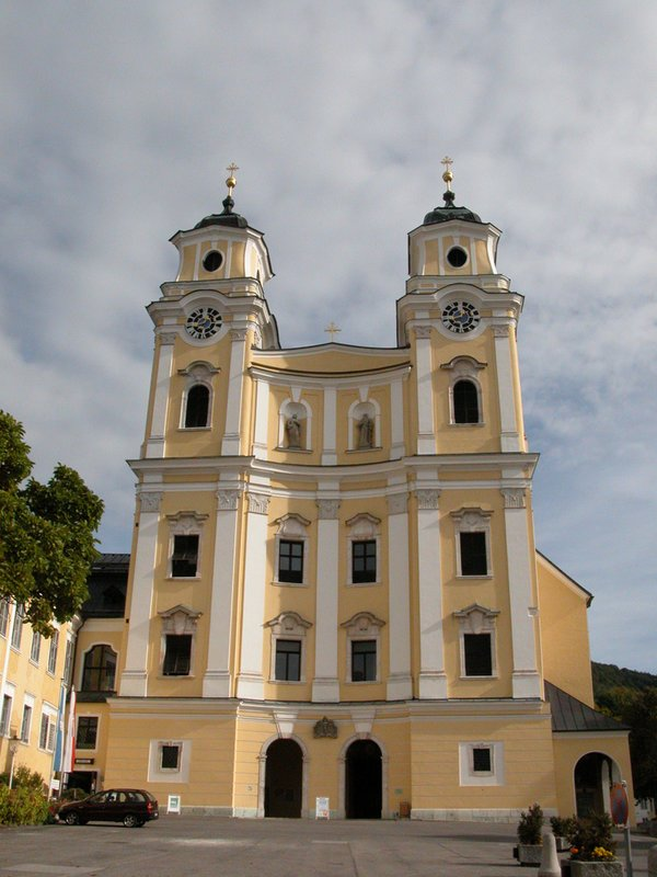 Church in Mondsee - Austria