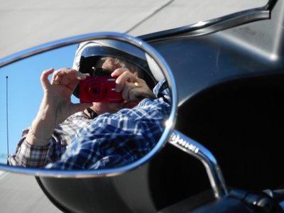 A new type of selfie on Route 66