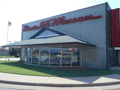 Route 66 Museum Entrance