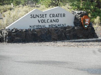 Sunset Crater state park