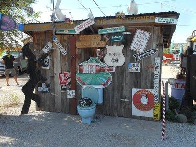 Seligman Route 66 shops