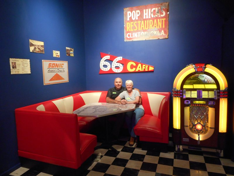 Route 66 Museum in Clinton