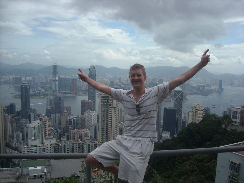 Me up Victoria Peak