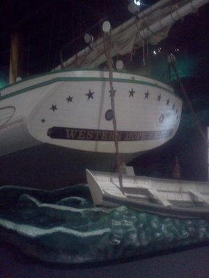 Western Hope Exhibit; Great Lakes Maritime Heritage Center (Alpena, MI)