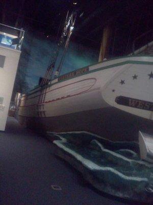 Western Hope Exhibit; Great Lakes Maritime Heritage Center (Alpena, MI)