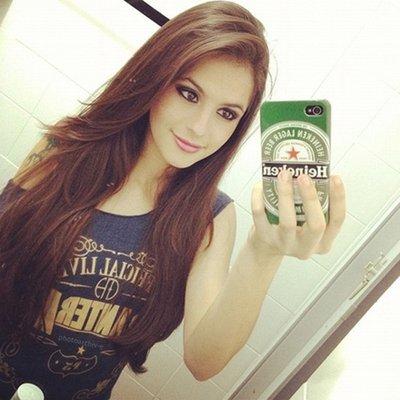 Selfie in a Las Vegas Hotel Room