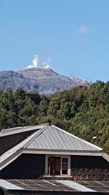 The volcano over Chaitén
