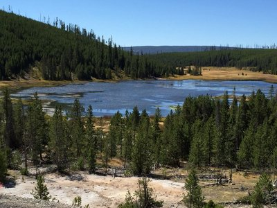 Another lovely view at Yellowstone