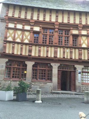 Treguier's old buildings