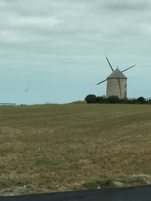 Windmill on the way to Dinard