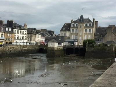 Inhabited Bridge at Landerneau