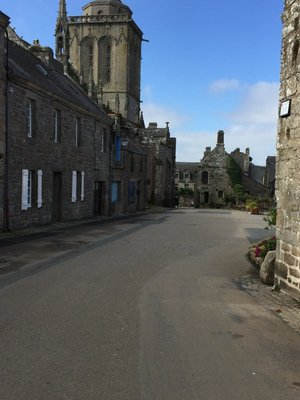 Locronan used to be the capital of sail making in the 15th century