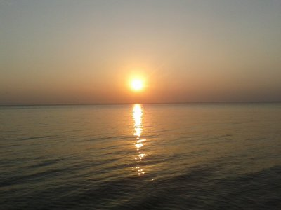 Sunset in Belitung Island