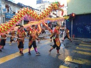 Chinese Festival in Chinatown, Kuala Lumpar
