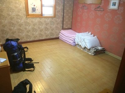 Traditional South Korean bedroom, Busan