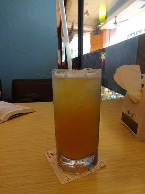 Iced Green Tea with Passionfruit, Kaohsiung