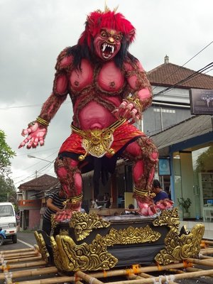 Ogoh Ogoh for Nyepi celebrations