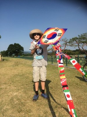 Kite flying, Gyeongju