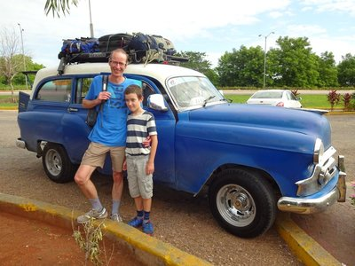 1950s Chevrolet Shared Taxi to Trinidad (6 hours)