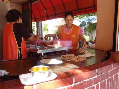 Quesadilla Stand, Cancun Downtown