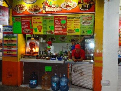 Food Stall, Parque de las Palapas, Cancun Centro