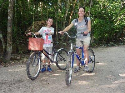 Cycling through the jungle, Coba