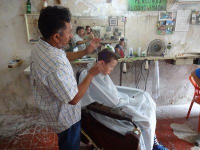 Visiting a Barber in Valladolid