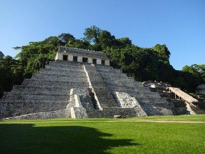 Templo de las Inscripciones, Palenque Ruins