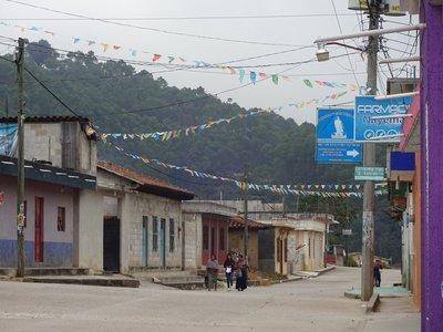 Zinacantan village near San Christobel de las Casas