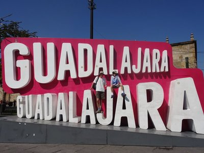 Last stop in Mexico, guess where we are?