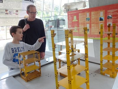 Experiment on building structures during earthquakes, 921 Earthquake Museum