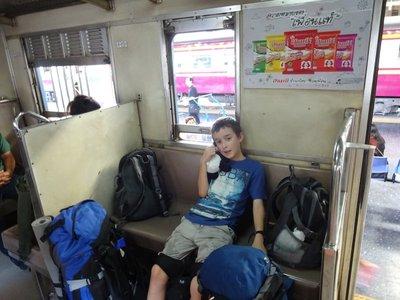 3rd Class Train to Ayutthaya