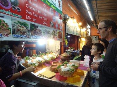 Spicy Hot Pot Food Stand, Chiang Rai Night Food Market