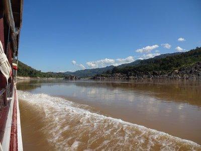 Down the Mekong River to Luang Prabang