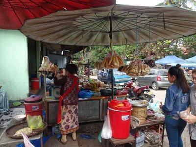 Street Food Stall, Luang Prabang