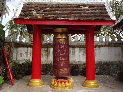 Ceremonial Drum, Wat Souvannapoumaram