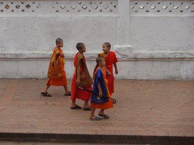 Monks, Luang Prabang