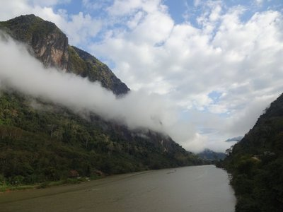 Nong Khiaw in the morning