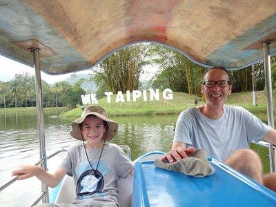 Boating on Taiping Lake, Taiping
